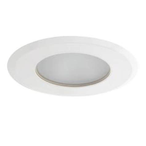 Shower Light Fixture Home Depot by Globe Electric 4 In White Recessed Shower Light Fixture