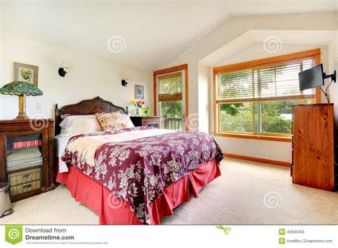 chambre am駻icaine int 233 rieur de chambre 224 coucher dans la maison am 233 ricaine