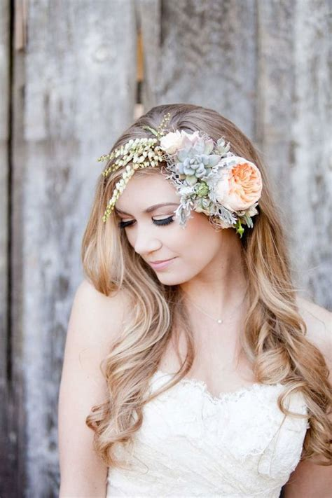 Wedding Hair With Flowers by Wedding Hairstyles With Flowers Hairstyle For