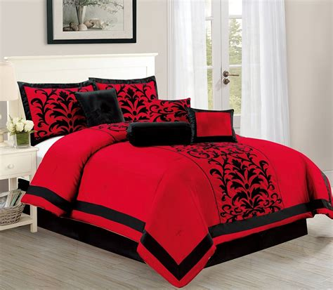 red and white comforter sets king red bed sheets queen bedding sets