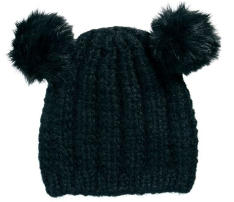 Pom Pom Beanie pom pom ears beanie 7 pom pom beanies to pop on