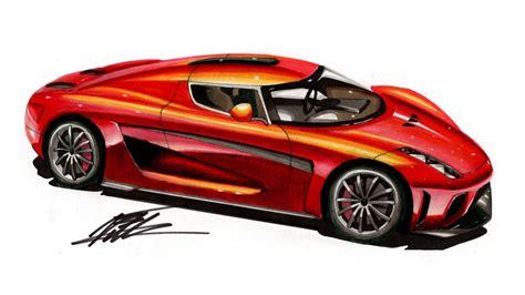 koenigsegg car drawing car drawing koenigsegg regera lapse