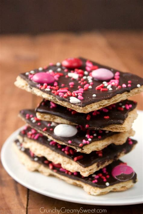 valentines chocolate recipes s day chocolate bark recipe crunchy sweet