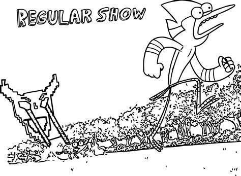 Network Coloring Pages Regular Show network coloring pages wecoloringpage