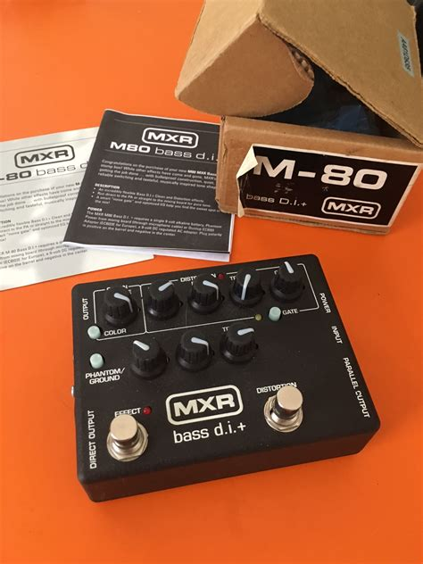Mxr M80 Bass D I photo mxr m80 bass d i mxr m80 bass d i 73685