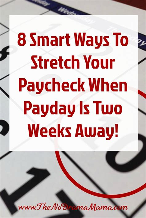 best ways to go about acquiring a payday advance 8 smart ways to stretch your paycheck when you get paid bi
