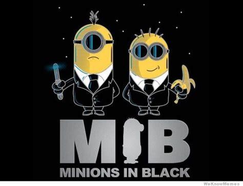 Minions Banana Meme - minions in black weknowmemes