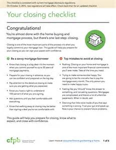real estate closing checklist template how the cfpb and trid will change your home buying expe