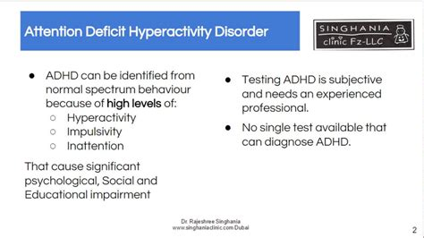 test adhd adhd test no single one test to diagnose your child with