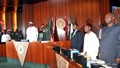 Number Of Cabinet Members Revealed What President Buhari S Fec Meeting