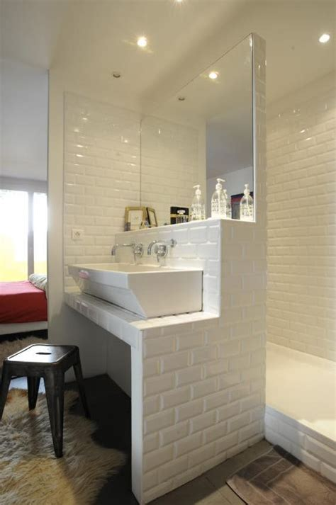 brick shaped bathroom tiles ensuite bathroom with brick shaped white tiles home