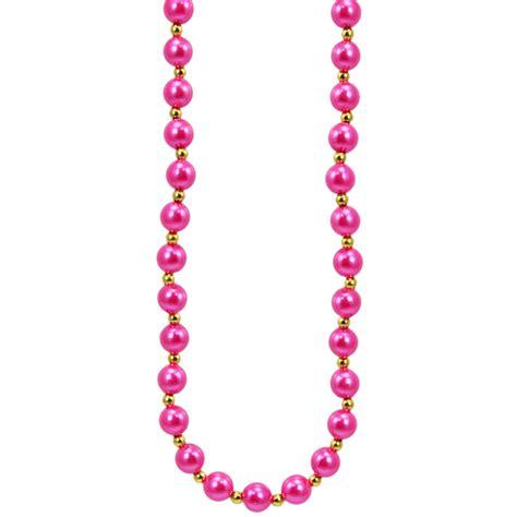 pink necklace pink pearls necklace mardigrasoutlet com