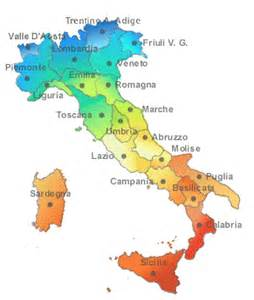 Provinces Of Italy Map by 302 Found