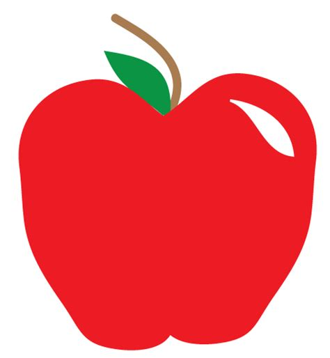 clipart apple free apple clipart and printables for projects