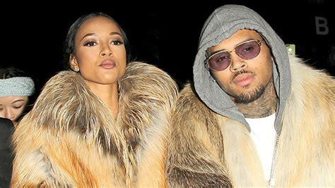 karrueche says she found out about chris brown s chris brown says that he found out about his daughter