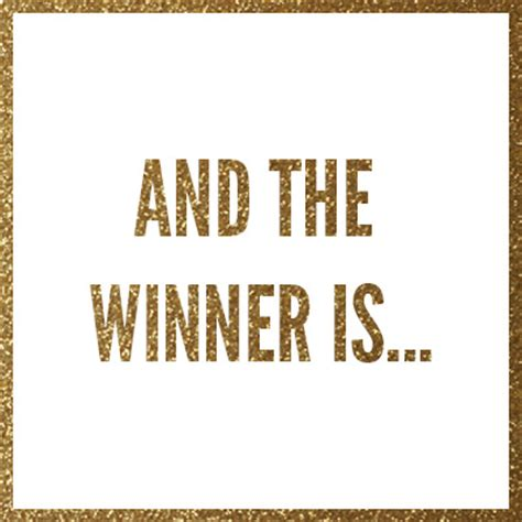And The Winner Is by Maybelline Giveaway We A Winner The Radiance Report