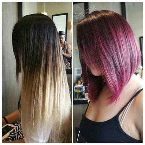 over forty hairstyles with ombre color 2016s trend ombre bob hairstyles bob hairstyles 2017