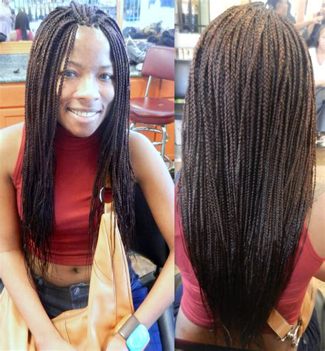 hair styles singles the types of box braid hairstyles to try 2018 best