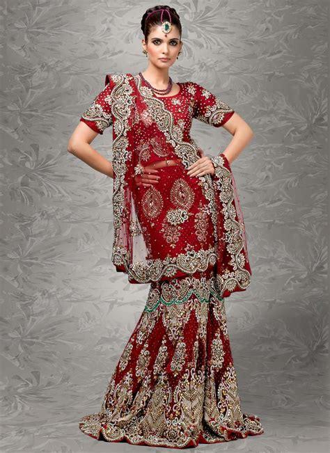 indian bridal wedding lehenga choli style sarees designs of sarees fashion style indian sarees designs bridal wedding