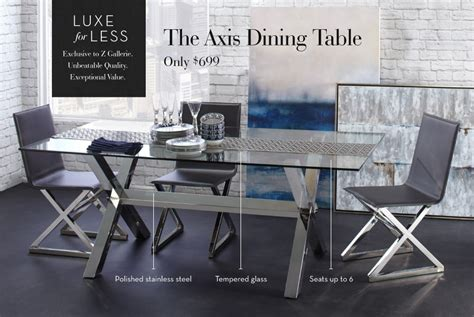 z gallerie dining table dining tables mirrored wooden glass tables z gallerie