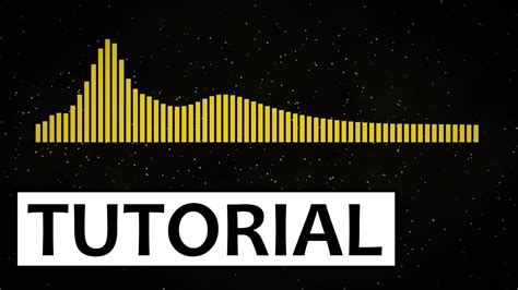 Visualizer Music Tutorial Quot Monstercat Quot Style Audio Visualization Blender