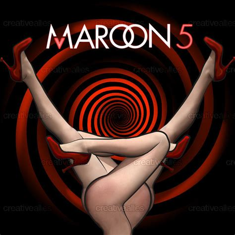 Maroon 5s New Album Hits Stores Today by Maroon 5 Album Cover By Montserrat Bofi