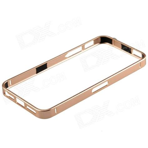 Bumper List Gold Iphone 5 ultrathin fashionable metal protective bumper frame for