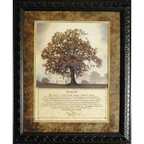 living life memorial framed art personalized gifts