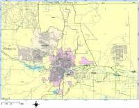 pueblo colorado zip code map pueblo digital vector maps editable illustrator