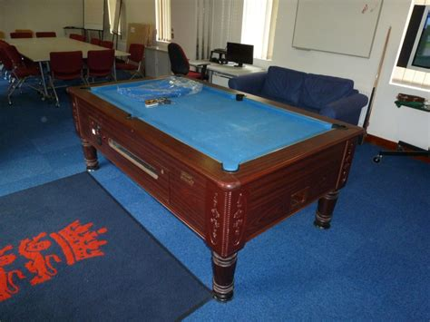 Academy Pool Table by And Wales Cricket Board Pool Table Renovated