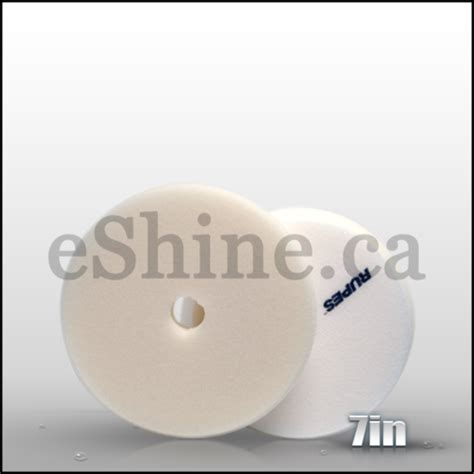Rupes 180mm Finishing Pad White rupes canada bigfoot polishers lhr15es lhr21es mkii eshine car care canada