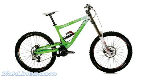 commencal supreme dh 2009 commencal supreme dh cedric gracia sick lines gallery