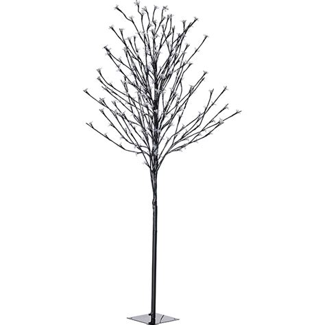 tree led indoor outdoor lighted tree 240 lights 57 quot rona