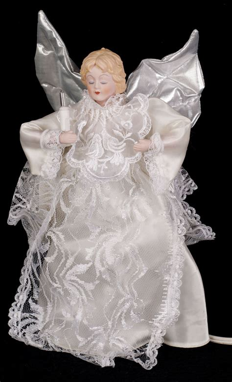 animated angel christmas tree topper wings arms move
