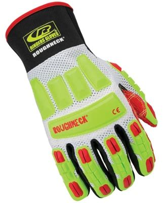 Safety Gloves Roughneck ringers gloves 298 vented roughneck kevloc impact gloves