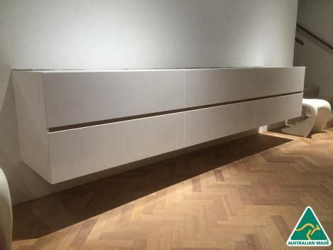 omeo australian  polyurethane wall hung  drawers tv