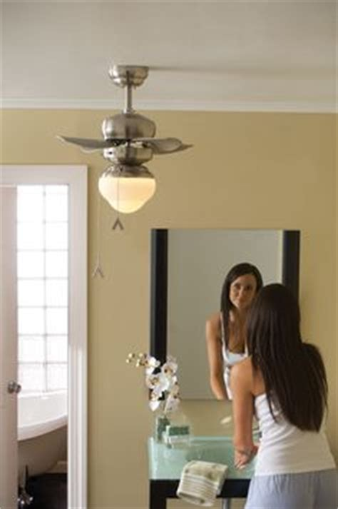small ceiling fans for bathrooms 1000 images about bathroom ceiling fan ideas on