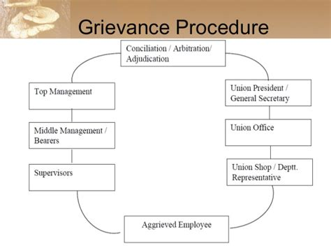 disciplinary and grievance procedures template grievance redressal