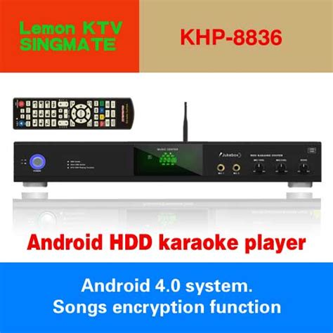 Pc Karaoke Ktv Player Android Remote 2tb ktv android 8836 2tb harddrive karaoke player volume 6