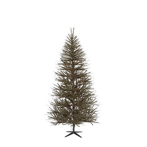 shop vickerman 5 ft unlit vienna twig slim artificial