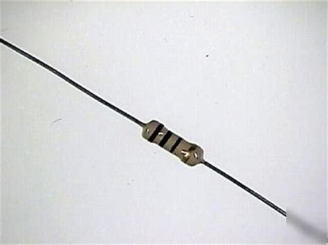 resistor for 10 watt led 10 ohm 1 2 watt 5 carbon resistors
