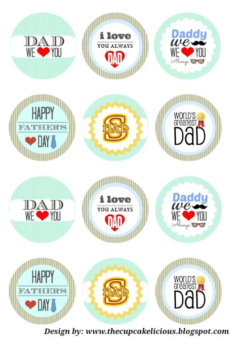 printable card toppers free printable straw toppers fathers day happy father s day