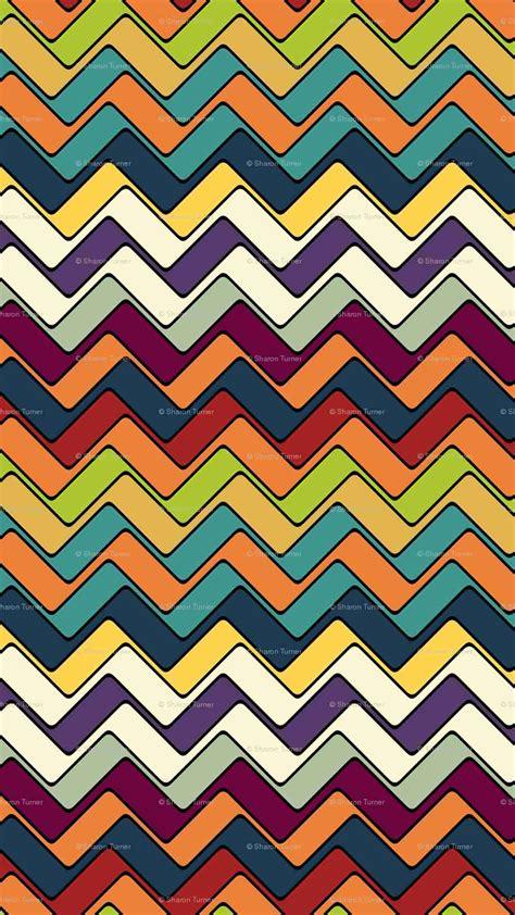 pattern wallpaper iphone 6 plus multi colorspaintingartchevronpatterniphone6pluswallpaper