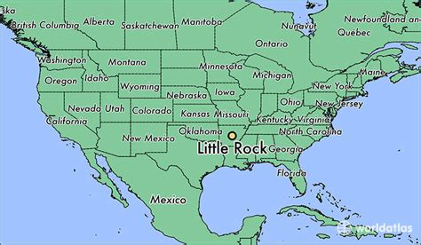 united states map showing arkansas where is rock ar rock arkansas map