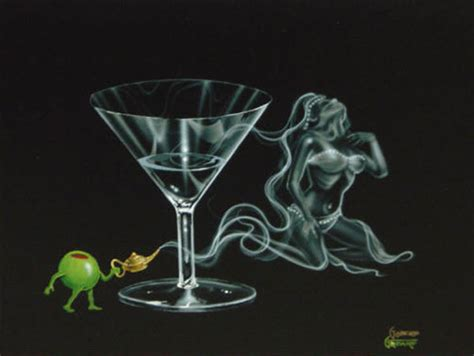 martini godard artist michael godard limited edition giclee on canvas