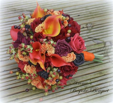 32 best images about fall weddings autumnal themed bridal flowers on