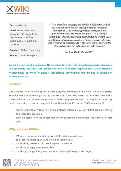 Study Kelayakan Proyek Ed 4 education resources the curriki s study