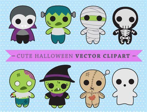 imagenes kawaii halloween premium vector clipart kawaii spooky halloween