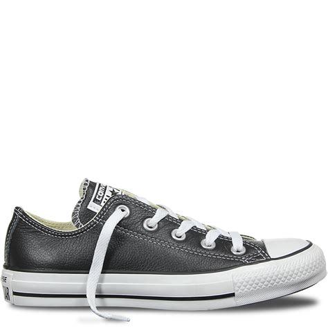 Best Product Sepatu Converse All Low Classic Black chuck all leather low top black converse