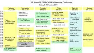 Schedule Of Accommodation Template by 8th Rdms Cms Conference